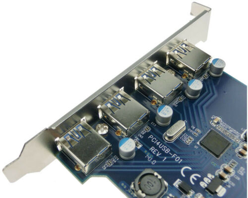 4 USB3.0 ports PCI-e x1 Card PCI express for Mac Pro