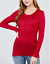 Women-039-s-Long-Sleeve-Shirt-Scoop-Neck-T-shirt-Top-Tee-Shirts-1XL-3XL-PLUS-SIZE thumbnail 20