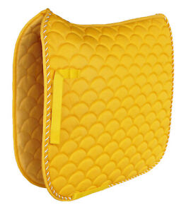 Horse-Quilted-ENGLISH-SADDLE-PAD-Trail-Dressage-7295