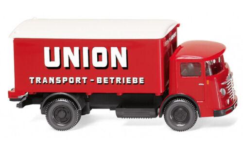 "#047603 maleta Wiking-camión Büssing 4500 1:87 /""unión transporte/"""