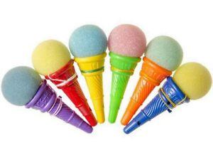 1 Bilboquet Ice Cream Boule De Glace Mousse 12 Cm Jeu D Autrefois