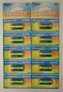 10x-4LR44-6v-Alkaline-battery-476A-A544-PX28-4G13-L1325