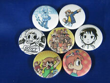 SCOTT PILGRIM vs THE WORLD COMICS 7 PINBACKS BUTTONS