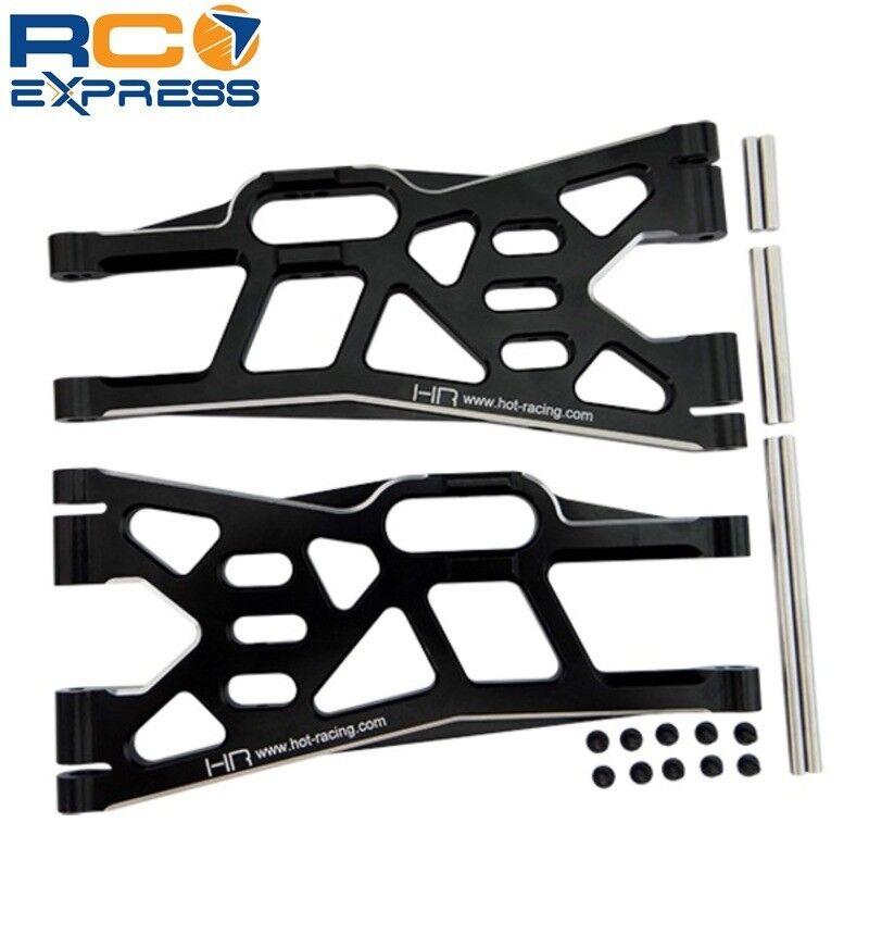 Hot Racing Traxxas Maxx Aluminio Delantero Suspensión Inferior X Arm Set XMX55X01