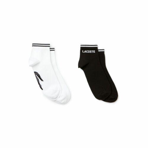 Lacoste Mens Low Cut Ankle Fashion Sport Socks UK 4.5-11