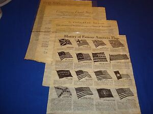 Declaration-Constitution-Bill-Of-Rights-Replicas-Historical-Documents-Flag