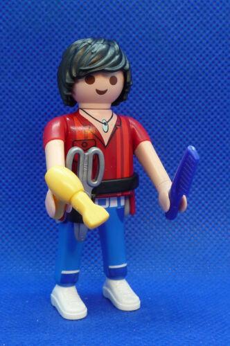 Playmobil SU-17 Man Figure Series-16 Boys Hair Stylist 70159