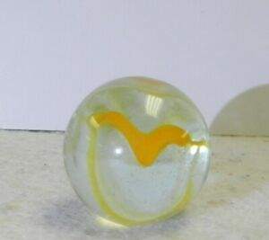 11538m-Vintage-Vitro-Agate-Hybrid-Cat-039-s-Eye-Shooter-Marble-86-Inches