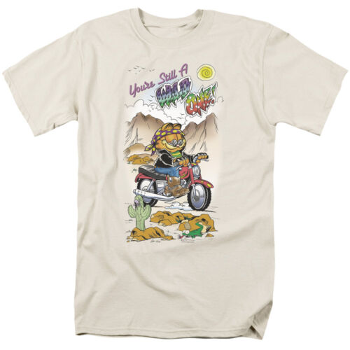 Garfield Comic Cat WILD ONE Licensed Adult T-Shirt All Sizes