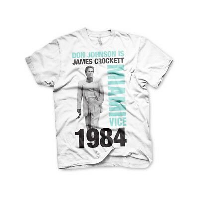 Officially Licensed Miami Vice Silhuettes Men/'s T-Shirt S-XXL Sizes