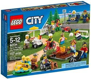 LEGO-Retired-City-Town-Fun-in-the-Park-City-People-New-in-Box-Set-60134