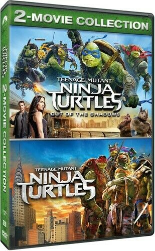 Dvd 2 Movie Collection Tmnt Teenage Mutant Ninja Turtles Out Of The Shadows For Sale Online Ebay