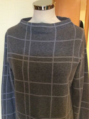 84 maglione Bianca 16 95 taglia Rrp Neck Boat grigio Bnwt 38 £ Ora £ zd4dxr