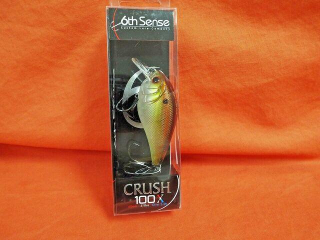 "6th Sense Crush 100X /""Backwater Bluegill/"""