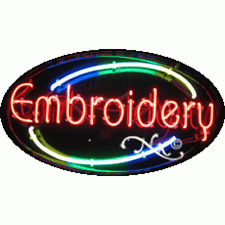 """BRAND NEW """"GYM/"""" 30x17 OVAL SOLID//FLASHING REAL NEON SIGN w//CUSTOM OPTIONS 14350"""