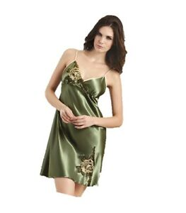 Bimeini pigiama in donna verde seta da Set UqRrxTU