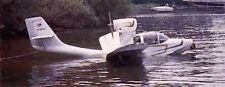 1/12 Scale Taylor Coot A-1 Anphibian Seaplane Plans & Templates