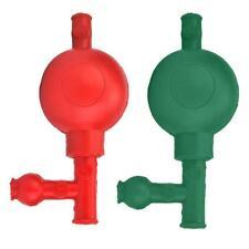 Rubber Suction Bulb Safe Pressure Quantitative Pipette Filler With 3 Valves