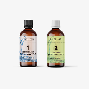show original title Details about  /ECLO 2 water treatment 1:1 drops with citric acid 50/%