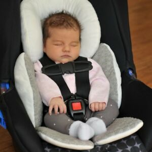 Details About Us Baby Newborn Car Seat Stroller Cushion Pad Liner Head Body Support Pillow Mat