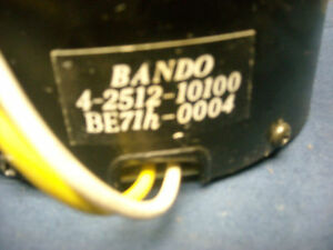 Fisher-BA-6000-power-supply-transformer-120V-Bando-4-2512-10-100-untested