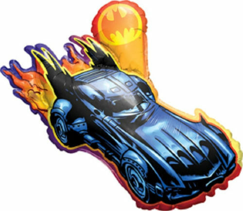 "Batmobile Bat Mobile Batman Car Party Decoration Foil 36/"" Shaped Mylar Balloon"