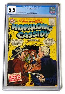 HOPALONG-CASSIDY-119-CGC-5-5-SINGLE-HIGHEST-GRADED-1956-DC-Comics-Gene-Colan