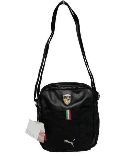 a77f0824a7 PUMA Ferrari LS Portable Shoulder Side Bag Black PMMO1037 1 for sale ...