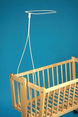 Drape / Canopy Holder / Rod Fits Mosses / Basket Cradle, Crib Frame Dolcezza Gradevole