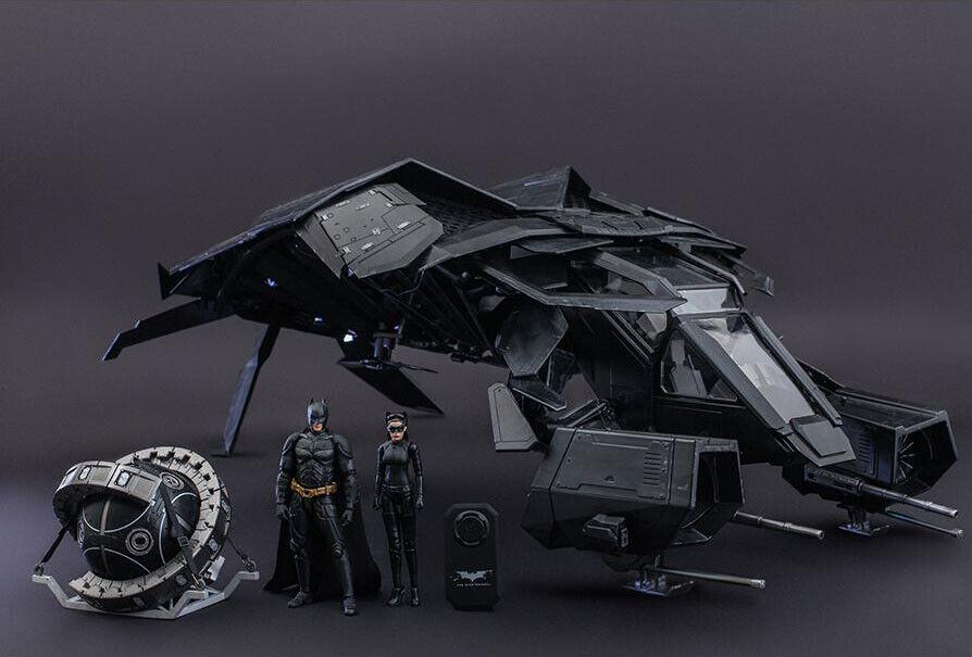 Hot Hot Hot Toys Dark Knight Rises The Bat DELUXE version Brand New 12b01b