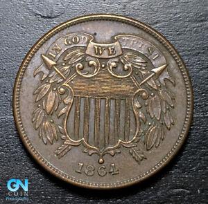 1864-2-Cent-Piece-MAKE-US-AN-OFFER-B2964