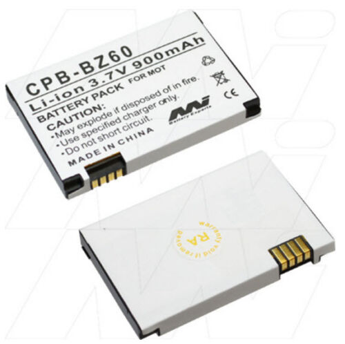 BZ60 CFNN1045 SNN5789 900mAh battery for Motorola Razr V3 V6 Maxx