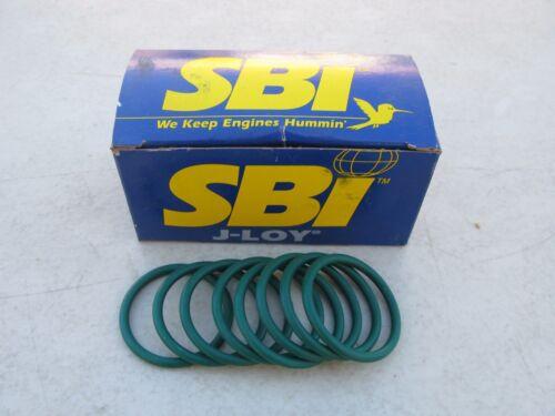 8Pcs 2401017R SBI Fuel Injector Tube O-Ring fit Detroit Diesel