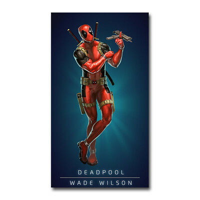 Deadpool 2 2018 Hot Movie Art Silk Canvas Poster 12x18 24x36 inch