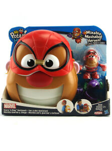 Mr-Potato-Head-Spider-Man-Backpack-Store-n-Play-Mixable-Mashable-Playskool-New