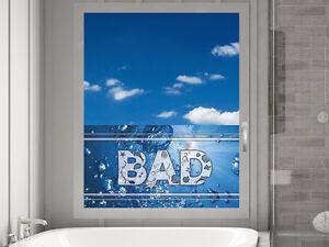 Sichtschutz Fensterfolie Sichtschutzfolie für Badezimmer Bad ...