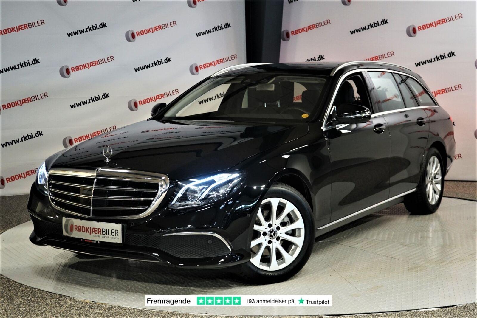 Mercedes E220 d 2,0 Exclusive stc. aut. 5d - 4.630 kr.