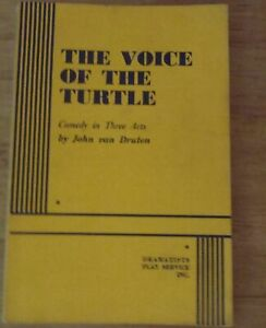 THE VOICE OF THE TURTLE by John Van Druten 1844 - Single Life in WWII NYC