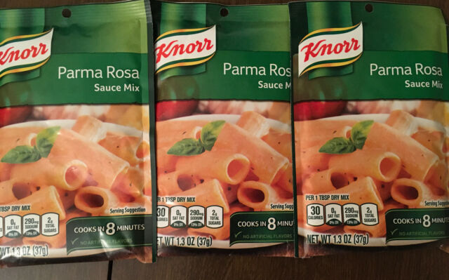 3 Knorr Parma Rosa Sauce Mix 1.3 Oz Packets Stovetop ...