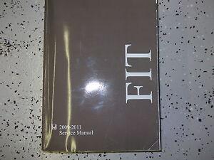 2009 2010 2011 honda fit f i t service shop repair workshop manual rh ebay com honda fit service manual 2013 honda fit service manual 2007