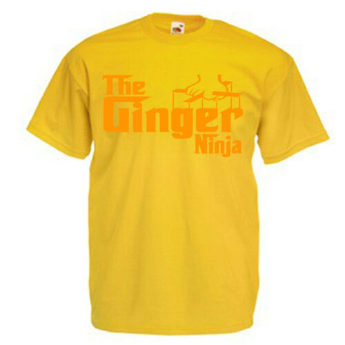 Ginger Ninja Children/'s Kids Childs Funny Gift T Shirt