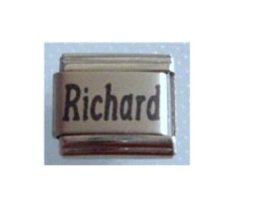 Italian Charms Name Charm Names  Richard