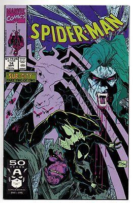 1991 Marvel Comics Spider-Man Saga #1 Steve Lightle Witterstaetter