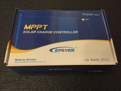 NEW 1215BN Tracer 10A 12//24V MPPT Solar Charge Controller with MT50 Remote Meter