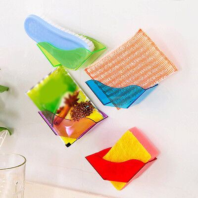HOT Sponge Shower Kitchen Hanging Plastic Rack Tidy Organiser Storage Shelves