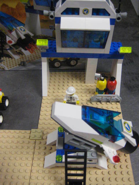 Vintage LEGO SYSTEM 6455 SPACE SIMULATION SIMULATION SIMULATION STATION like new in original box compl 683f13