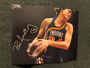 Bob-Netolicky-ABA-Indiana-Pacers-Signed-8-X-10-Photo-Autographed-Neto