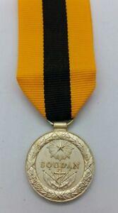 Medaille-commemorative-du-SOUDAN-1892-livree-avec-ruban-Refrappe-de-qualite