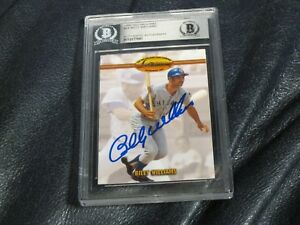 Billy-Williams-Autographed-1993-Ted-Williams-Baseball-Card-Beckett-Cert