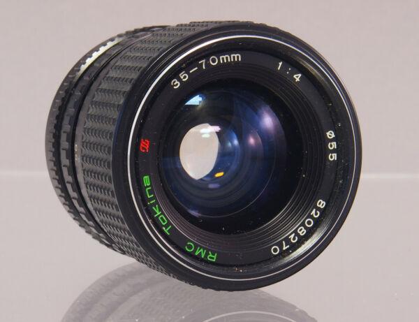 MéThodique Rmc Tokina 35-70 Mm F4 Pour Minolta Md Objectif Lens - 32277